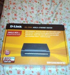ADSL2+ETHERNET ROUTER DSL-2500U