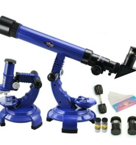 Телескоп микроскоп 2в1
