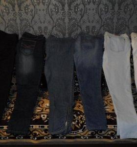 Много фирменных джинс, р.38-58