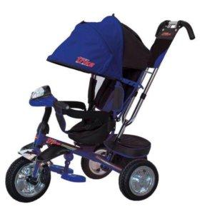 Трехколесный велосипед коляска поворотное сиденье