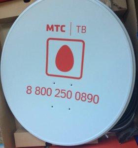 Комплект спутникового телевидения от мтс No92