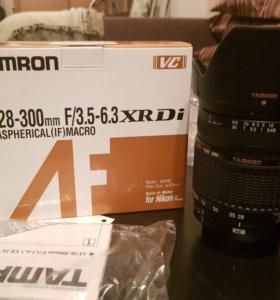 Объектив Tamron AF 28-300mm f/3.5-6.3 XR Di NIKON