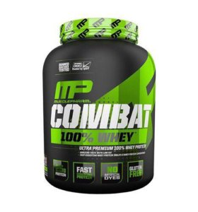 MusclePharm Combat 100 % whey, 2270 гр.