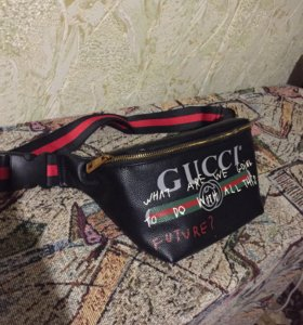 Сумка Gucci поясная