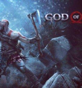 Диск God of war 4 на ps4 английская версия