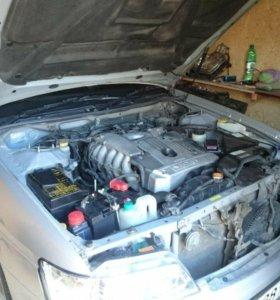 Двигатель с коробкой