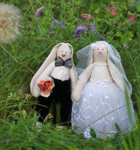 Свадебные зайки Тильда