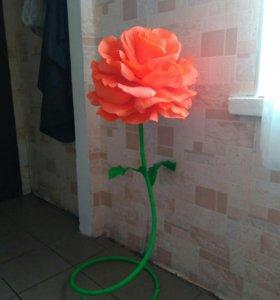 Изготовление ростовых роз на заказ!!