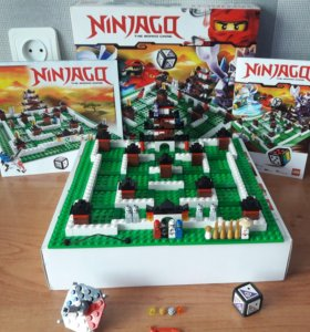 Конструктор LEGO Ninjago 3856 Настольная игра
