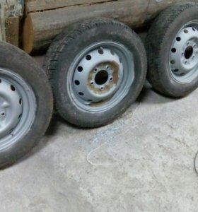 колёса на ниву