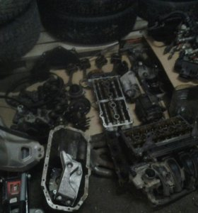 Двигатель BKY в разборе Шкода.