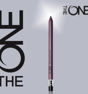 Гелевый карандаш-подводка для глаз The ONE черный