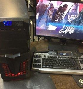 Игровой компьютер все игры i5 Haswell GTX-1050 Ti