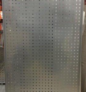 Стеллаж металлический перфорированный Б/У