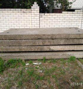 Плита бетонная