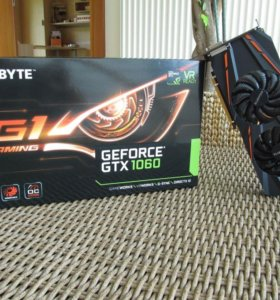 GIGABYTE GeForce GTX 1060 G1 GAMING