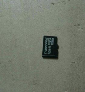продам карту памяти на 16гб