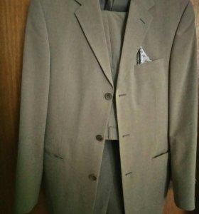 Костюм мужской (двойка:брюки+пиджак)