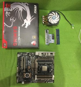 Продам видеокарту msi Radeon r270x 2gb торг