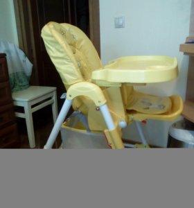 Детский стульчик Happy Baby Yellow
