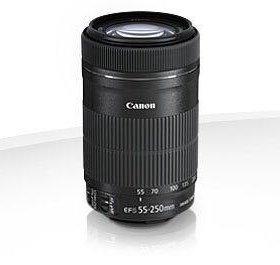 Объектив для Canon EF-S 55-250mm f/4-5.6 IS