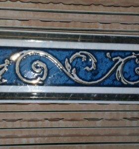 Плитка декорированная облицовочная 40шт
