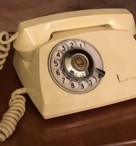 Дисковый телефон правительственной связи