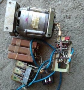 Двигатель асинхронный однофазный