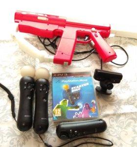 PS3 MOVE и автомат