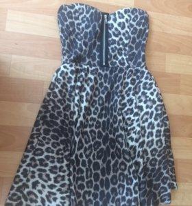 Платье леопард 🙂👗