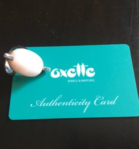 Кольцо серебряное Oxette с перламутром оригинал