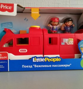 Поезд Fisher Price