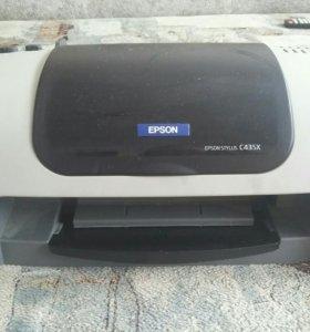 Принтер стоит без печати достаточно долго,на запча
