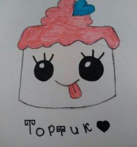 Рисунок Тортик