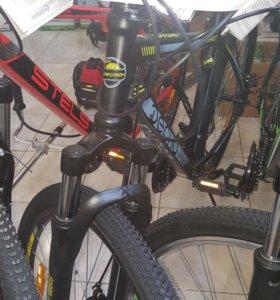 Велосипед горный Десна 2610 MD 26 Черный Серый