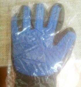 Перчатка для удаления шерсти