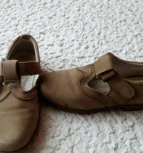 Туфли кожаные ecco kids для девочки
