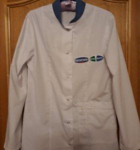 Куртка продавца молочных продуктов или медсестры
