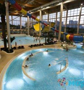 Скидка на посещение аквапарка Мореон 35%
