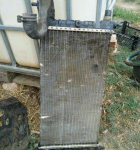 Радиатор опель