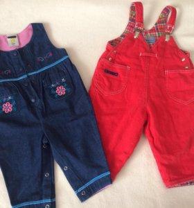 Одежда для девочки - песочники, комбинезоны
