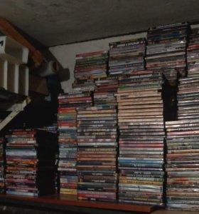 Продам DVD диски(сериалы и фильмы, мультики...)