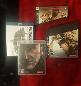 PS3 Metal Gear Solid 4 Guns of Patriots LE