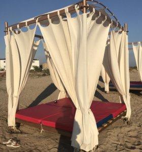 Шатёр лежак для пляжа