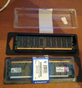 Оперативная память Kingston valueram DDR2 - 4 ГБ