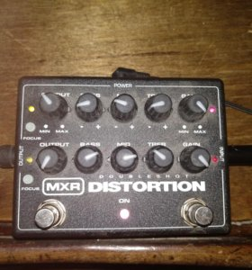 mxr double shot distortion