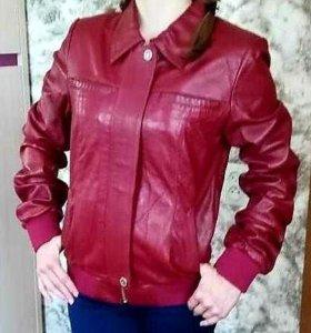 Кожанная куртка. Новая. Производство Турция.