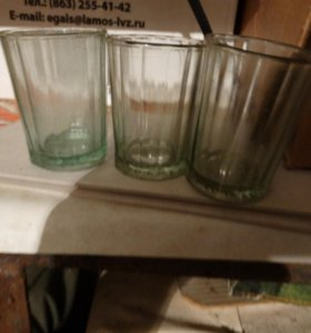 новые стаканы 100 гр советского периода