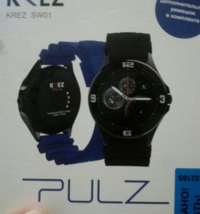 Смарт-часы KREZ PULZ SW01