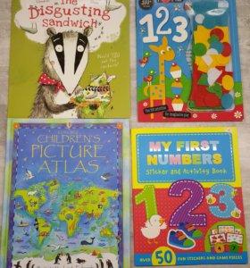 Развивающ книги англ.язык детские